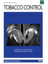 Tobacco Control: 26 (e1)