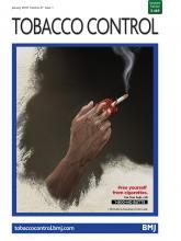 Tobacco Control: 27 (1)