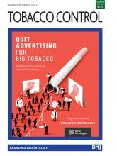 Tobacco Control: 27 (5)