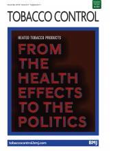 Tobacco Control: 27 (Suppl 1)