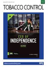 Tobacco Control: 28 (1)