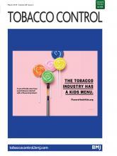 Tobacco Control: 28 (2)
