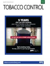 Table of contents | Tobacco Control