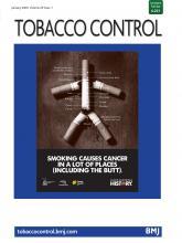 Tobacco Control: 29 (1)