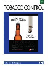 Tobacco Control: 29 (6)
