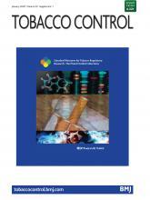 Tobacco Control: 29 (Suppl 1)