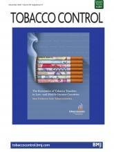 Tobacco Control: 29 (Suppl 5)