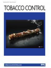 Tobacco Control: 30 (6)